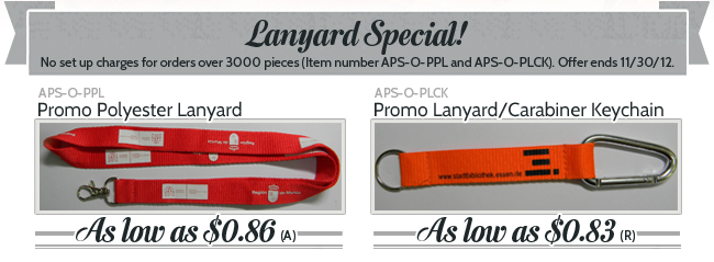 Lanyard Special!