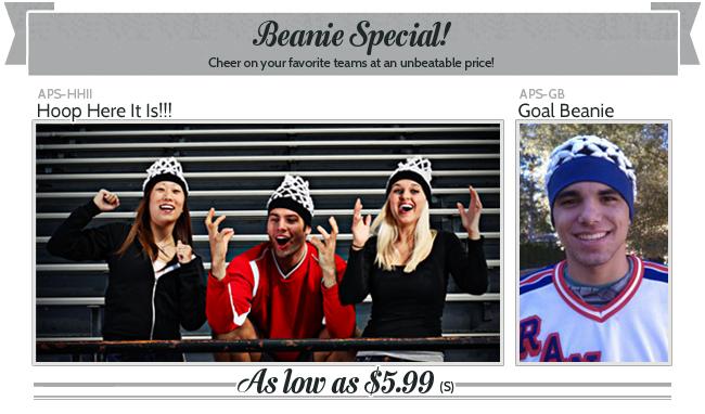 Beanie Special!